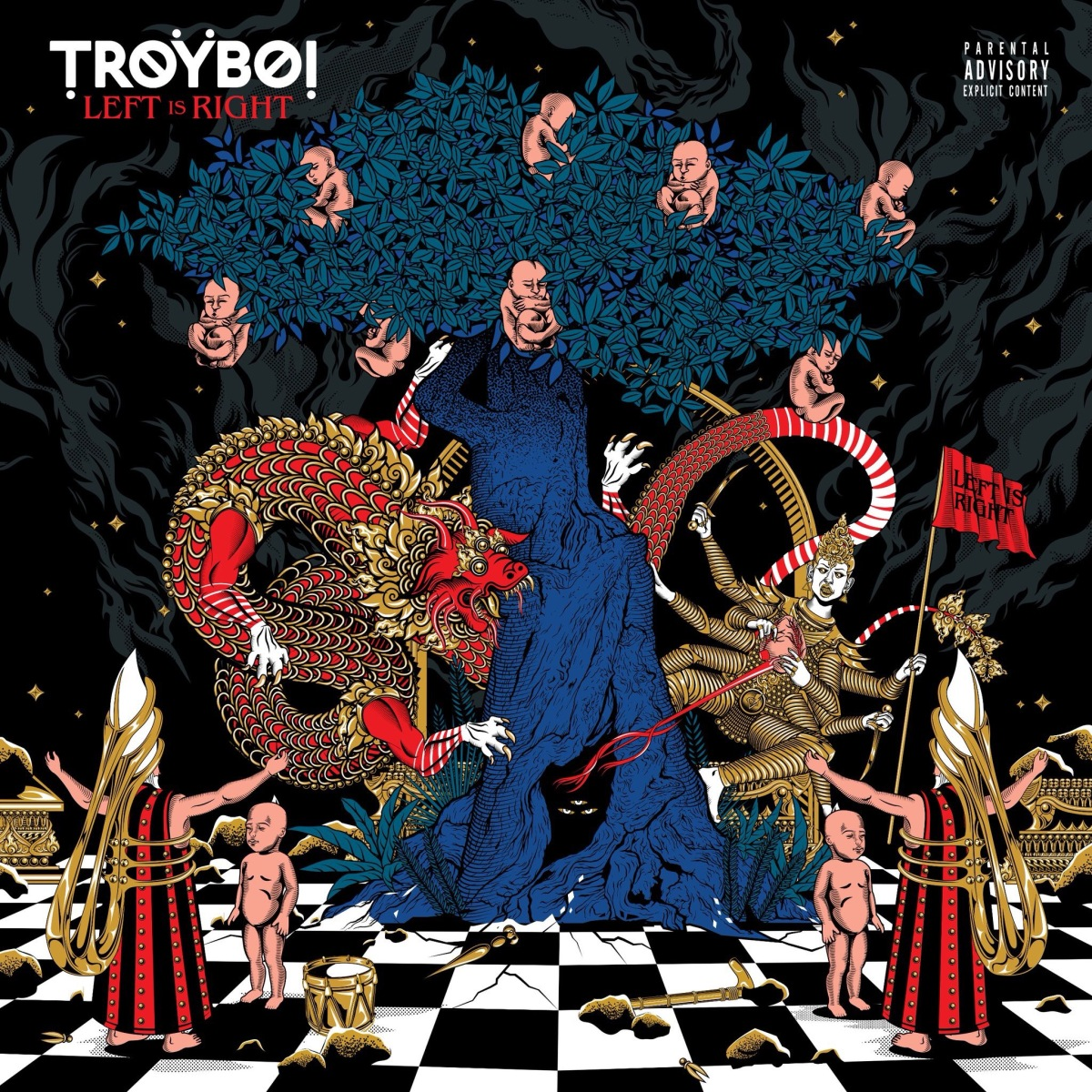 Review on TroyBoi's Album Left is Right