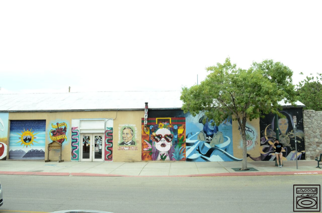 Donwtown; El, Paso, TX; Shot by Andrew J Murillo