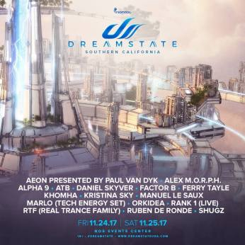 Dreamstate 2017 - announcement 3