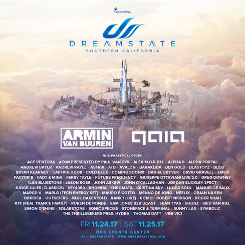 dreamstate full lineup 2