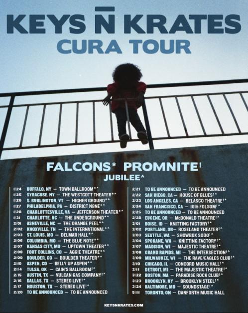 Keys N Krates Cura Tour