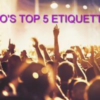 Trillvo's Top 5 Festival Etiquette Tips