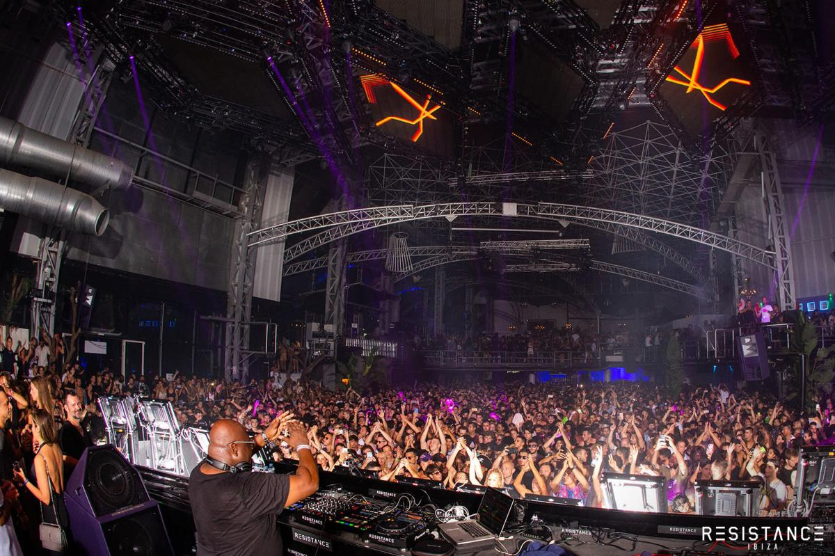 RESISTANCE Ibiza (World's Largest Nightclub) Hits Full Capacity for Carl Cox's Birthday