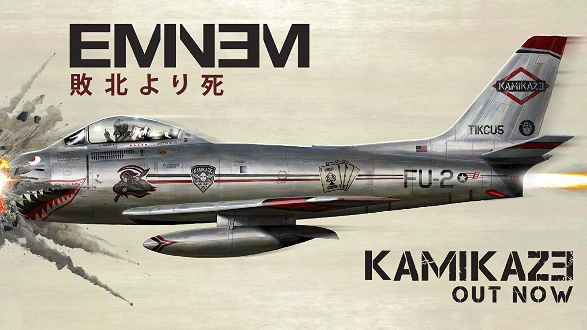 "Eminem Goes ""Kamikaze"" With Surprise New Album"