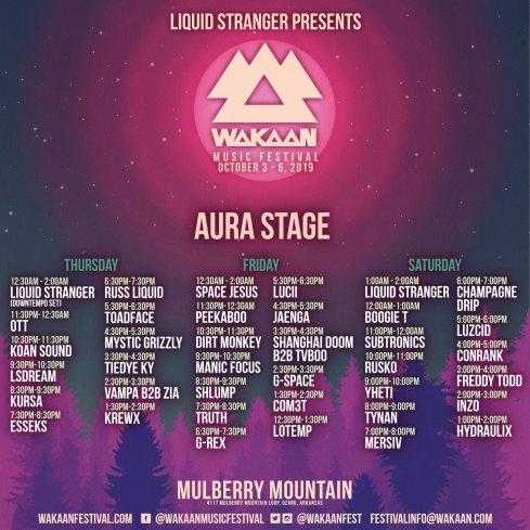 aura stage